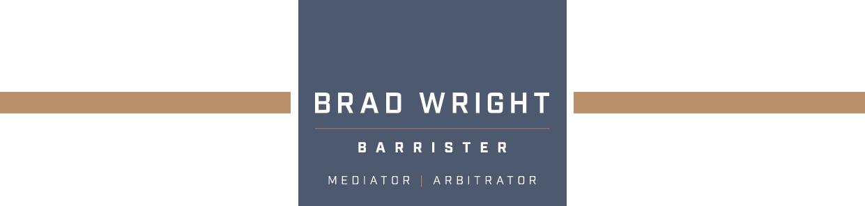Brad Wright – Barrister Logo