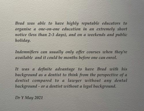 Dental Complaints are different….